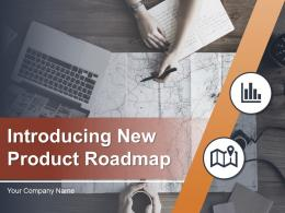 Introducing New Product Roadmap PowerPoint Presentation Slides