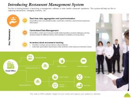 Introducing Restaurant Management System Maintains Ppt Powerpoint Presentation Styles Shapes