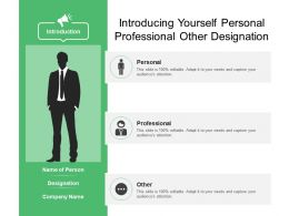 Introducing Yourself Personal Professional Other Designation