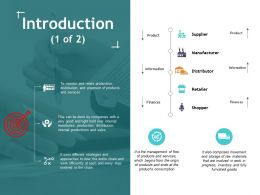 Introduction 1 Of 2 Ppt Show Icons