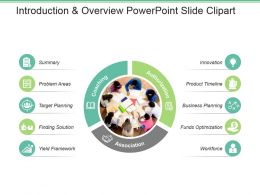 Introduction And Overview Powerpoint Slide Clipart