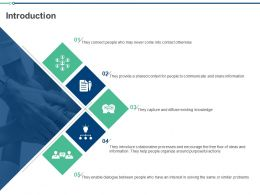 Introduction Collaborative Processes Ppt Powerpoint Presentation Inspiration Good