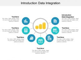 Introduction Data Integration Ppt Powerpoint Presentation Portfolio Deck Cpb