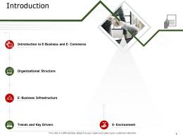 Introduction Ecommerce Solutions Ppt Structure