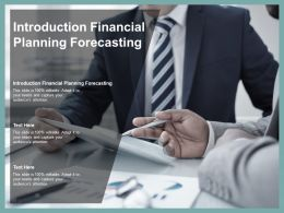 Introduction Financial Planning Forecasting Ppt Powerpoint Presentation Summary Graphics Tutorials Cpb