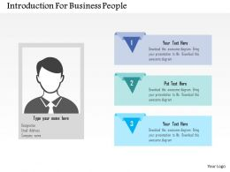 Introduction For Business People Flat Powerpoint Design