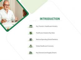 Introduction Hospital Administration Ppt Icon Skills