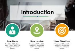 Introduction Icons Ppt Powerpoint Presentation File Diagrams