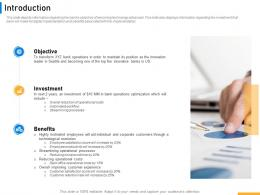 Introduction Implementing Digital Solutions In Banking Ppt Infographics