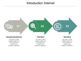 Introduction Internet Ppt Powerpoint Presentation Portfolio Designs Download Cpb