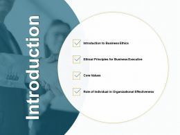 Introduction Organizational Ppt Powerpoint Presentation Gallery Pictures