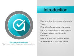Introduction Powerpoint Templates