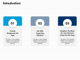 Introduction Ppt Powerpoint Presentation File Example File