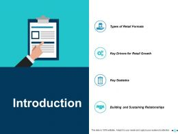 Introduction Ppt Show Icons