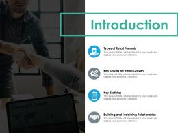 Introduction Ppt Summary Infographic Template