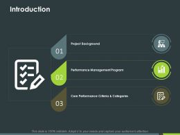 Introduction Project Background Ppt Powerpoint Presentation Inspiration Layouts