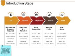 Introduction Stage Ppt Design