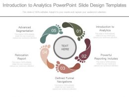 Introduction To Analytics Powerpoint Slide Design Templates