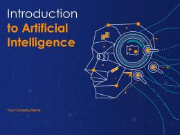 Introduction To Artificial Intelligence Powerpoint Presentation Slides