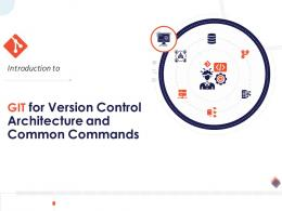 Introduction To Git For Version Control Architecture And Common Commands Complete Deck