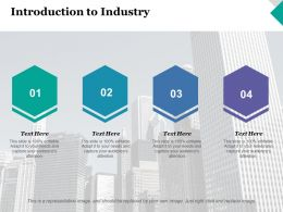 Introduction To Industry Business Ppt Inspiration Graphics Template