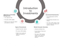 Introduction To Investments Portfolio Management Ppt Powerpoint Presentation