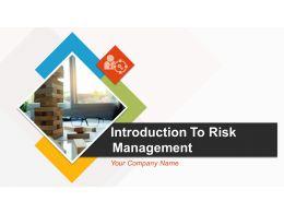 Introduction To Risk Management Powerpoint Presentation Slides