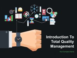 Introduction To Total Quality Management Powerpoint Presentation Slides