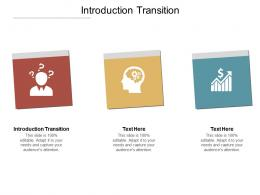 Introduction Transition Ppt Powerpoint Presentation Model Clipart Cpb