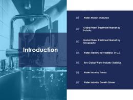 introduction urban water management ppt brochure