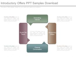 Introductory Offers Ppt Samples Download