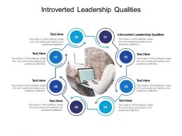 Introverted Leadership Qualities Ppt Powerpoint Presentation Ideas Slides Cpb