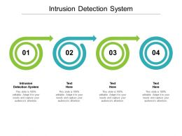 Intrusion Detection System Ppt Powerpoint Presentation Summary Objects Cpb