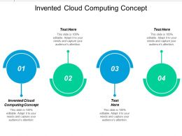 Invented Cloud Computing Concept Ppt Powerpoint Presentation Ideas Designs Cpb