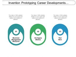 Invention Prototyping Career Developments Marketplace Pricing Computer Employment Cpb