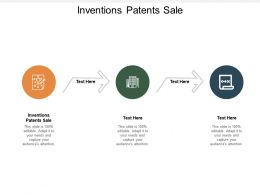 Inventions Patents Sale Ppt Powerpoint Presentation Styles Rules Cpb
