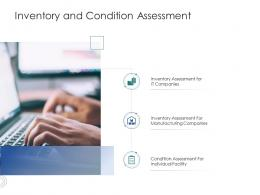 Inventory And Condition Assessment Infrastructure Engineering Facility Management Ppt Slides