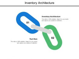 Inventory Architecture Ppt Powerpoint Presentation Model Slide Cpb