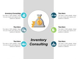 Inventory Consulting Ppt Powerpoint Presentation Pictures Design Templates Cpb