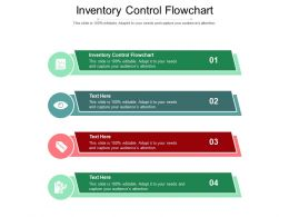 Inventory Control Flowchart Ppt Powerpoint Presentation Summary Influencers Cpb