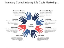 Inventory Control Industry Life Cycle Marketing Strategic Plans Cpb