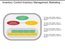 Inventory Control Inventory Management Marketing Conferences Customer Expectations