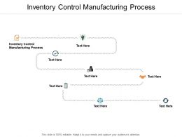 Inventory Control Manufacturing Process Ppt Powerpoint Presentation Model Cpb