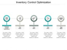 Inventory Control Optimization Ppt Powerpoint Presentation Pictures Example Introduction Cpb