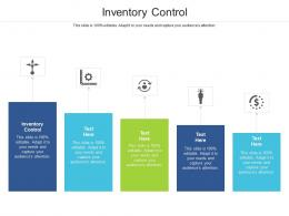 Inventory Control Ppt Powerpoint Presentation Gallery Design Inspiration Cpb