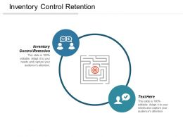 Inventory Control Retention Ppt Powerpoint Presentation File Maker Cpb
