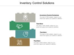 Inventory Control Solutions Ppt Powerpoint Presentation Infographic Template Show Cpb