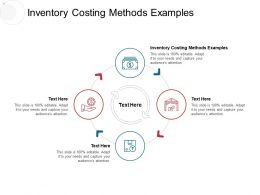 Inventory Costing Methods Examples Ppt Powerpoint Presentation Styles Graphics Cpb