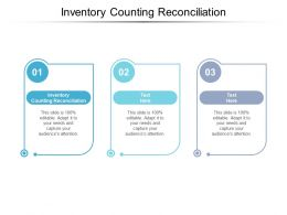 Inventory Counting Reconciliation Ppt Powerpoint Presentation Summary Background Images Cpb