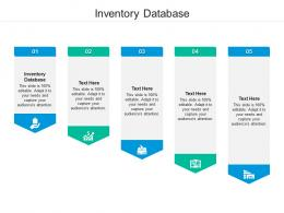 Inventory Database Ppt Powerpoint Presentation Summary Good Cpb